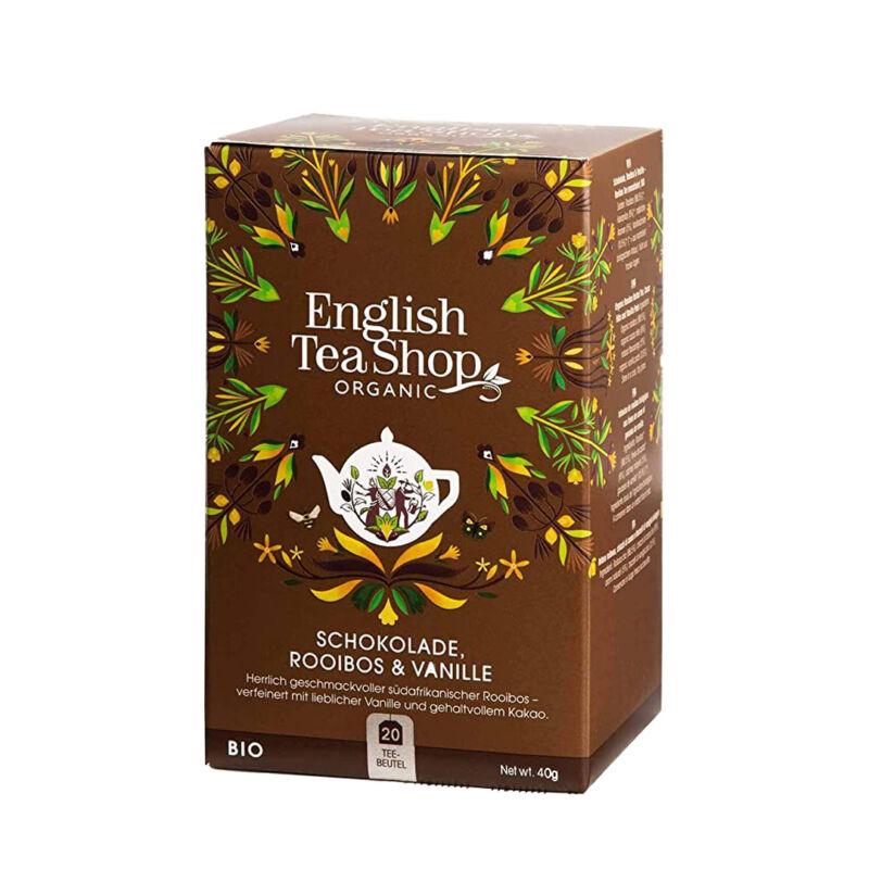 Bio csokoládés vaníliás rooibos tea