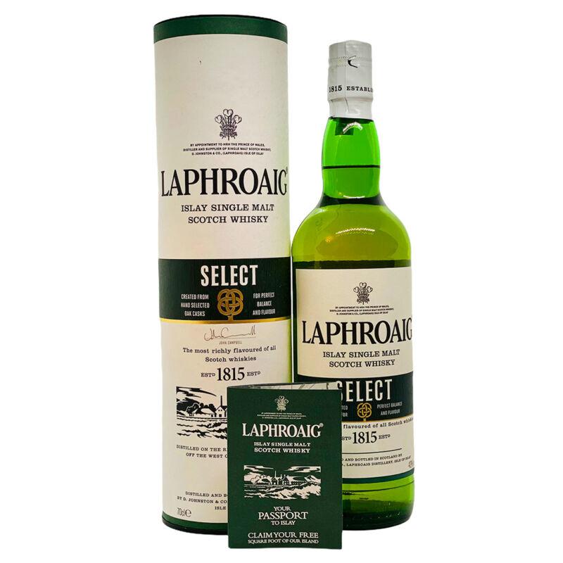 Laphroaig díszdobozos 10 éves skót whisky