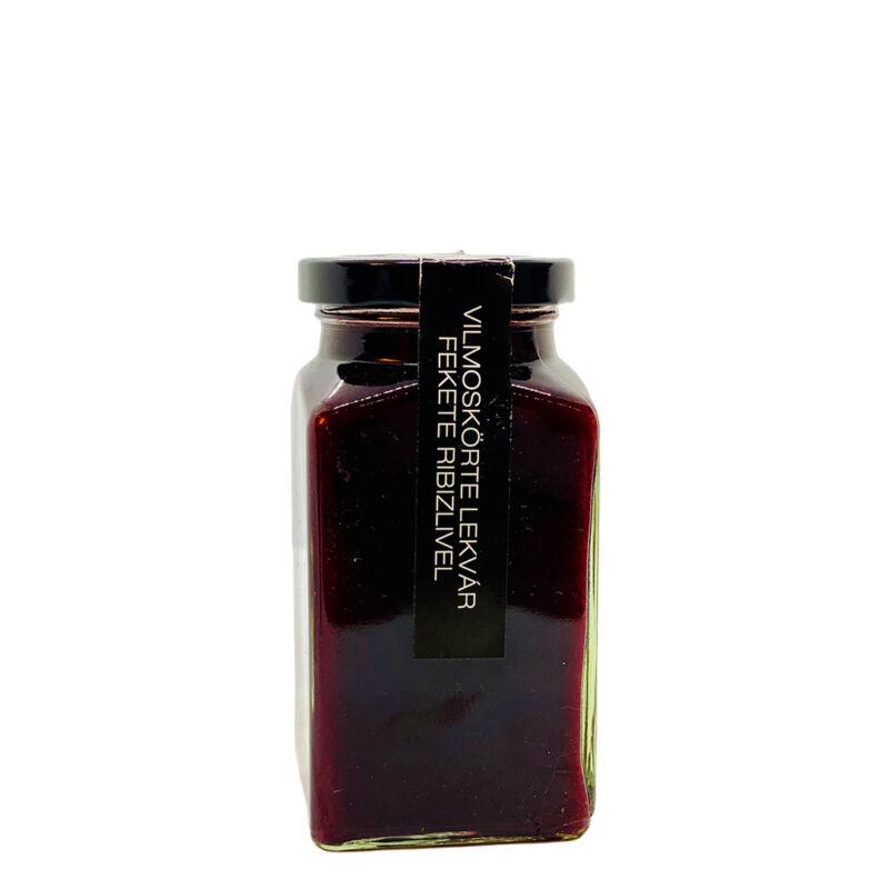 Vilmoskörte-feketeribizli lekvár