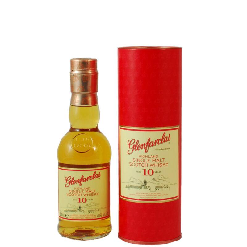 Glenfarclas 10 éves whisky 0,2