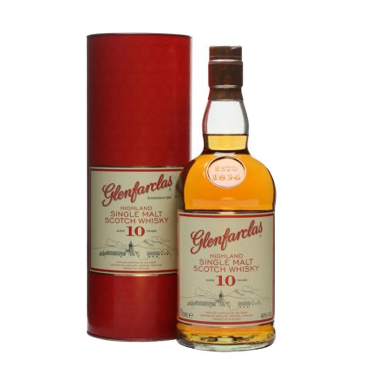 Glenfarclas 10 éves whisky 0,7