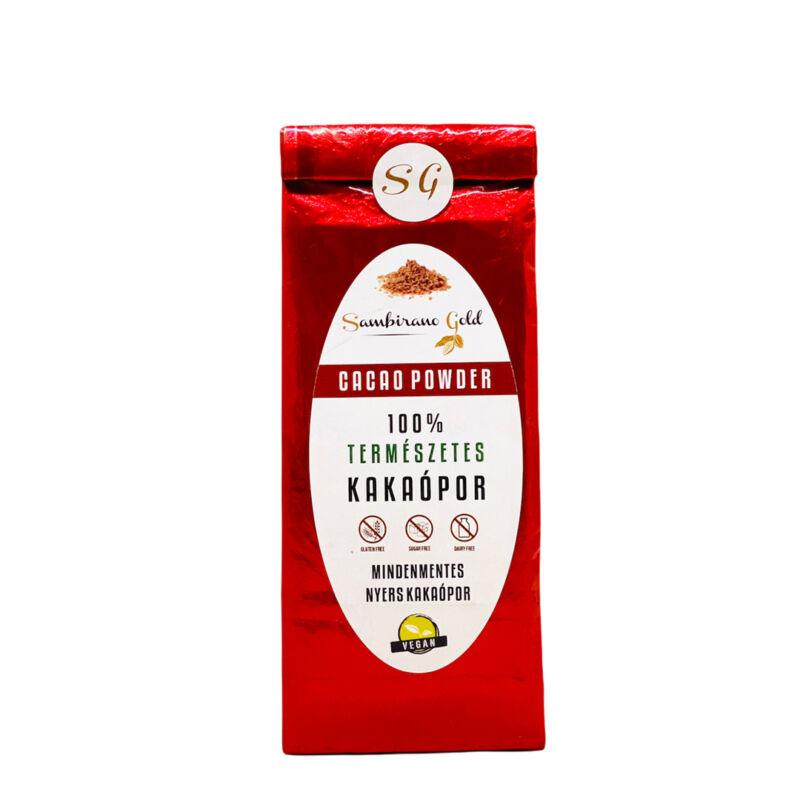 100% természetes kakaó