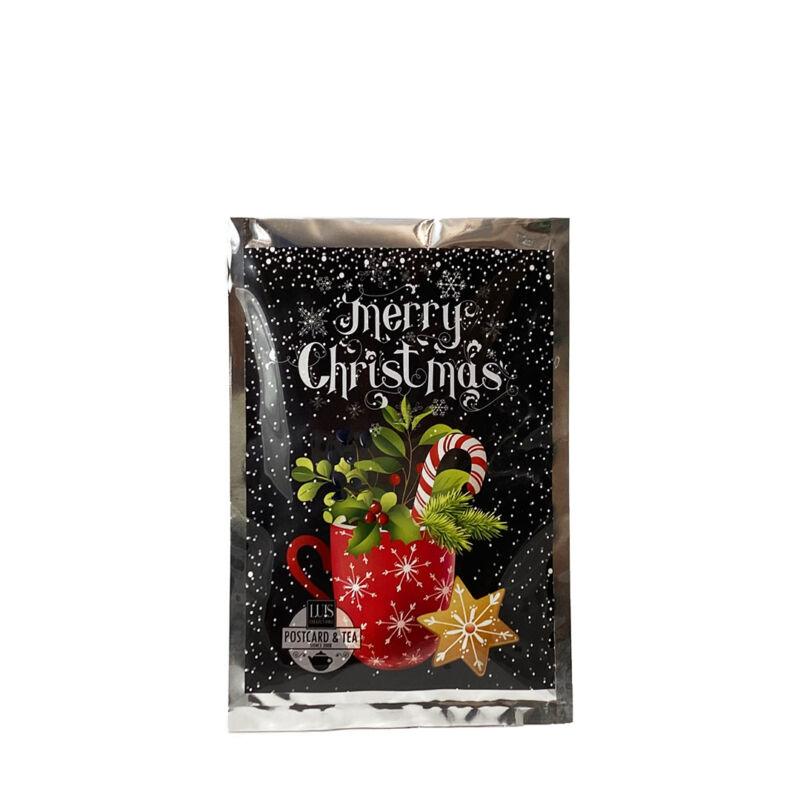 Karácsonyi képeslap tea